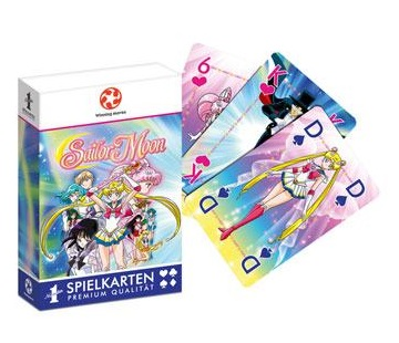 SAILOR MOON BARAJA DE CARTAS