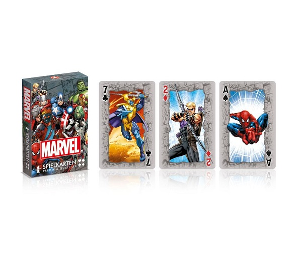 MARVEL BARAJA DE CARTAS