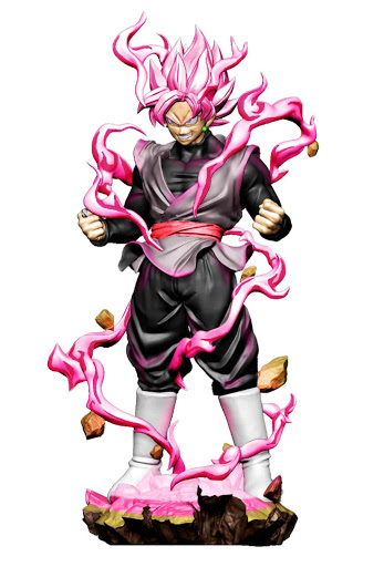 DRAGON BALL SUPER DISPLAY MINI DIORAMAS GOKU BLACK ROSE