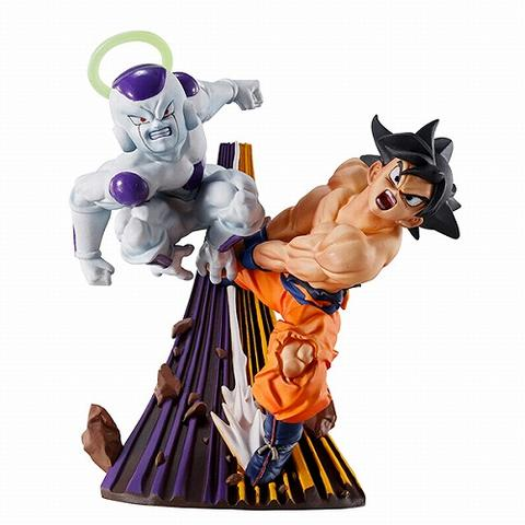 DRAGON BALL SUPER DISPLAY MINI DIORAMAS SON GOKU & FREEZER