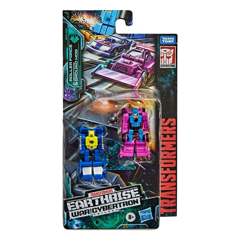 TRANSFORMERS GENERATIONS WAR FOR CYBERTRON TRILOGY: EARTHRISE ROLLER FORCE + GROND HOG