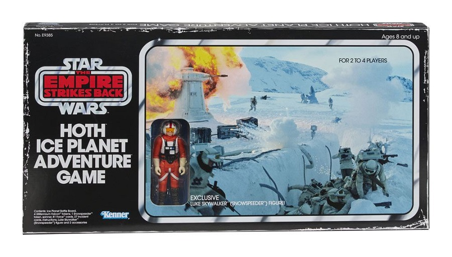 STAR WARS EMPIRE STRIKES BACK HOTH ICE PLANET ADVENTURE GAME