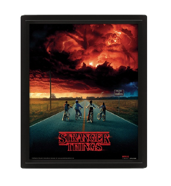 STRANGER THINGS POSTER 3D MIND FLYER