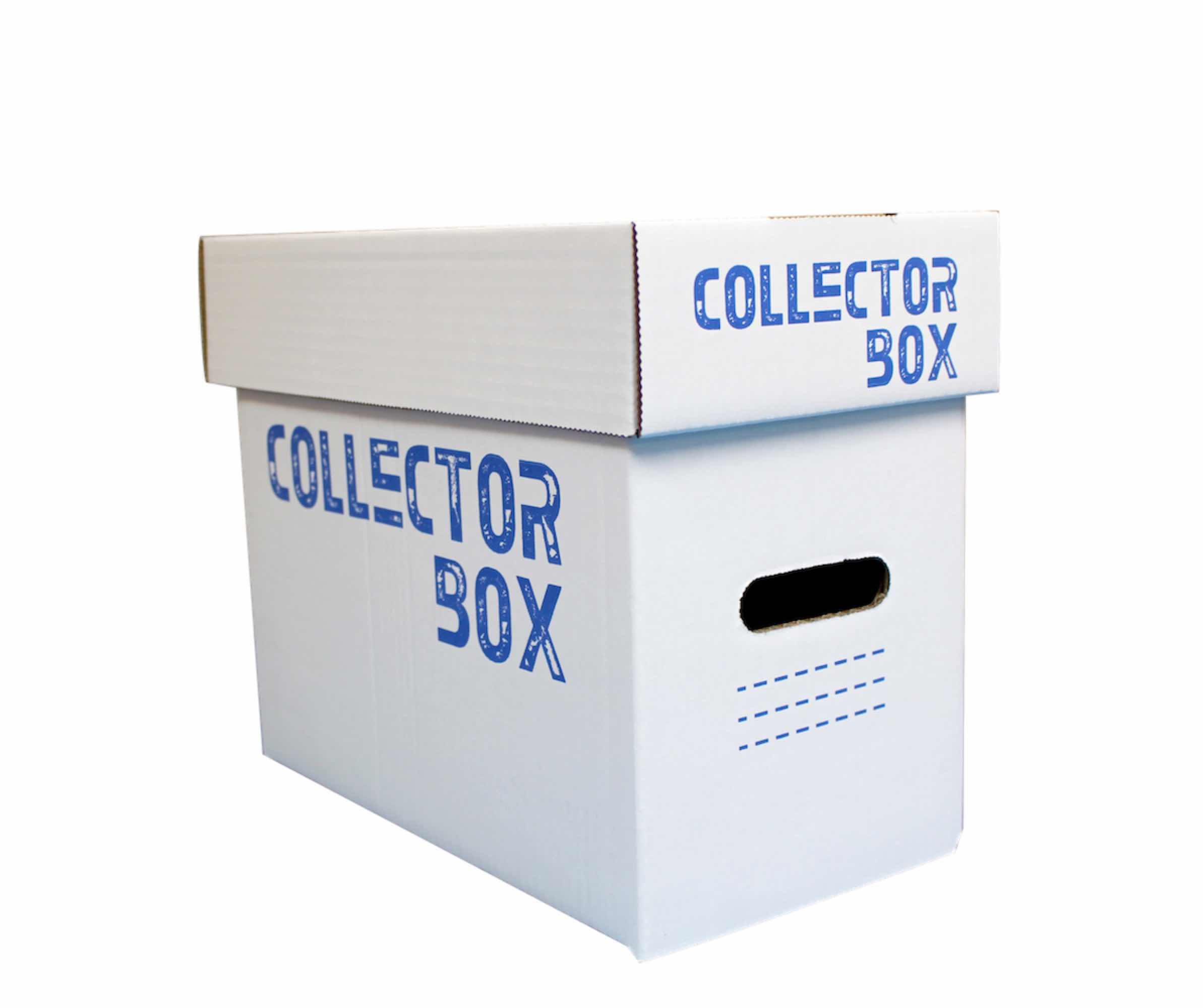 COLLECTOR BOX CAJA INDIVIDUAL CARTON 30 X 20 X 30 CM