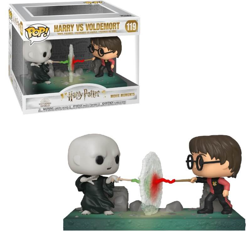 HARRY POTTER HARRY VS VOLDEMORT FIGURAS POP