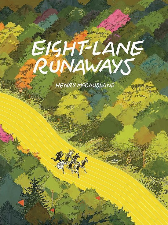 EIGHT-LANE RUNAWAYS HC (INGLES)