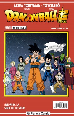 DRAGON BALL SUPER 31 SERIE ROJA Nº242