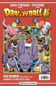 DRAGON BALL SUPER 34 SERIE ROJA Nº245