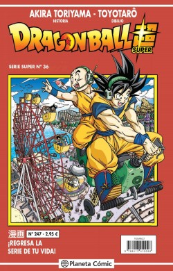 DRAGON BALL SUPER 36 SERIE ROJA Nº247