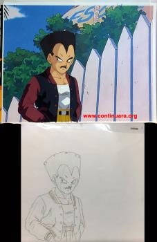 DRAGON BALL CEL DRAGON BALL GT VEGETA + DOUGA