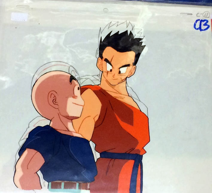 DRAGON BALL CEL DRAGON BALL Z YAMCHA Y KRYLIN