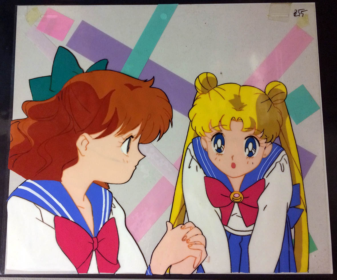 SAILOR MOON CEL BUNNY Y NARU