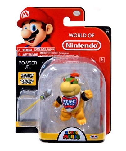 SUPER MARIO FIGURA 9CM BOWSER JR.