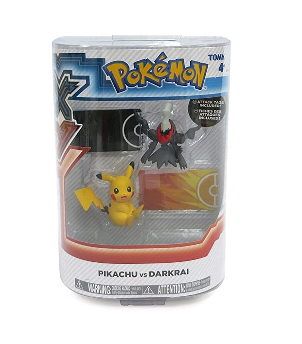 POKEMON XY PIKACHU VS DARKRAI