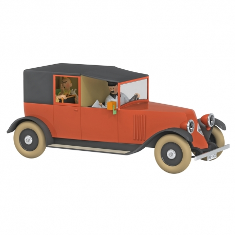 TINTIN COCHE LE TAXI ROUGE