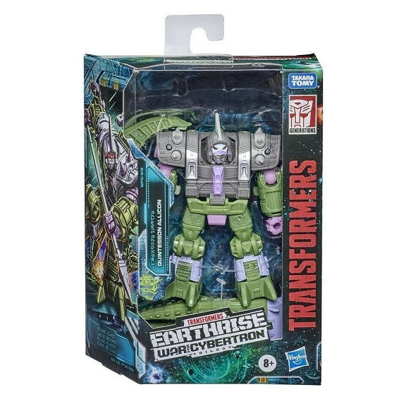 TRANSFORMERS GENERATIONS WAR FOR CYBERTRON TRILOGY: EARTHRISE QUINTESSON ALLICON