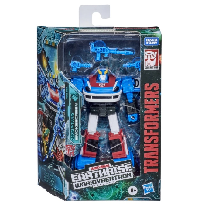TRANSFORMERS GENERATIONS WAR FOR CYBERTRON TRILOGY: EARTHRISE SMOKESCREEN