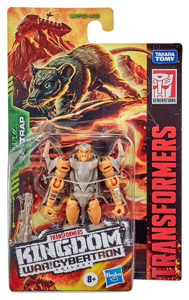 TRANSFORMERS GENERATIONS WAR FOR CYBERTRON KINGDOM RATTRAP