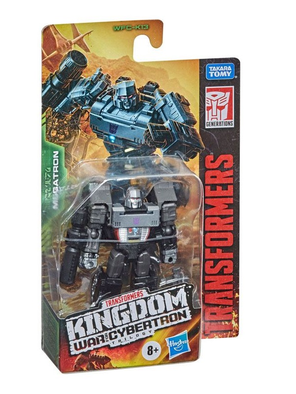 TRANSFORMERS GENERATIONS WAR FOR CYBERTRON KINGDOM MEGATRON