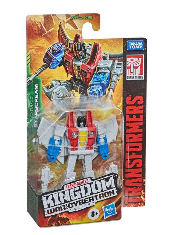 TRANSFORMERS GENERATIONS WAR FOR CYBERTRON KINGDOM STARSCREAM