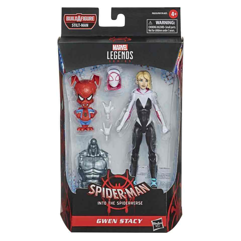 MARVEL LEGENDS GWEN STACY & SPIDER-HAM