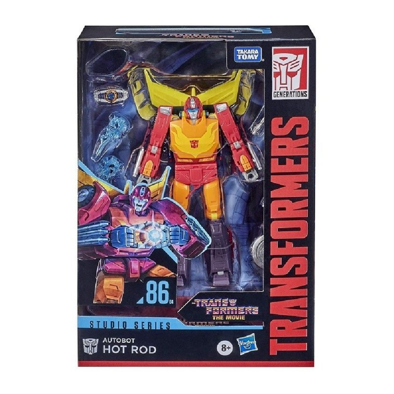 TRANSFORMERS GENERATIONS STUDIO SERIES THE MOVIE HOT ROD