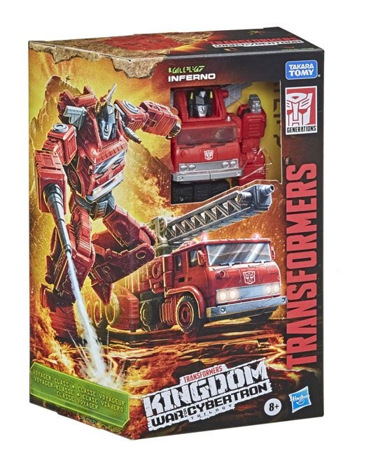 TRANSFORMERS GENERATIONS WAR FOR CYBERTRON TRILOGY: KINGDOM INFERNO
