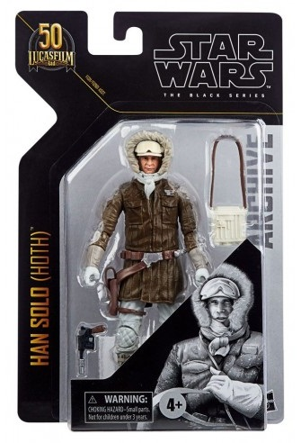 STAR WARS BLACK SERIES HAN SOLO (HOTH)
