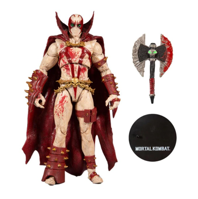MORTAL KOMBAT XI SPAWN BLOOD FEUD HUNTER 18 CM