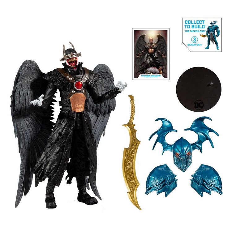 DC MULTIVERSE DARK KNIGHTS METAL THE BATMAN WHO LAUGHTS HAWKMAN