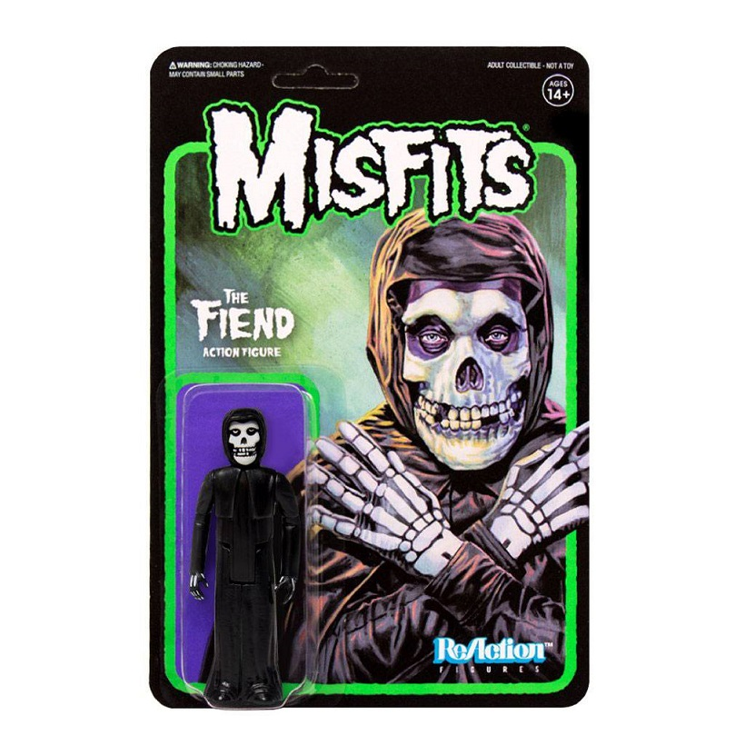 MISFITS REACTION THE FIEND MIDNIGHT BLACK