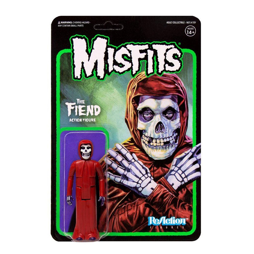 MISFITS REACTION THE FIEND CRIMSON RED