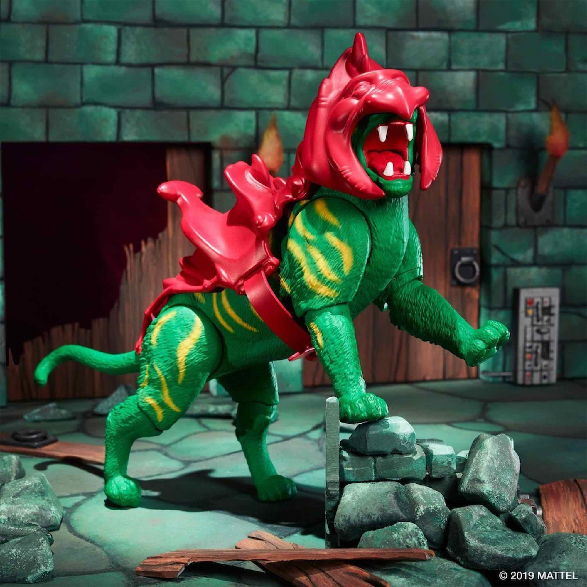 MASTERS OF THE UNIVERSE ORIGINS BATTLE CAT