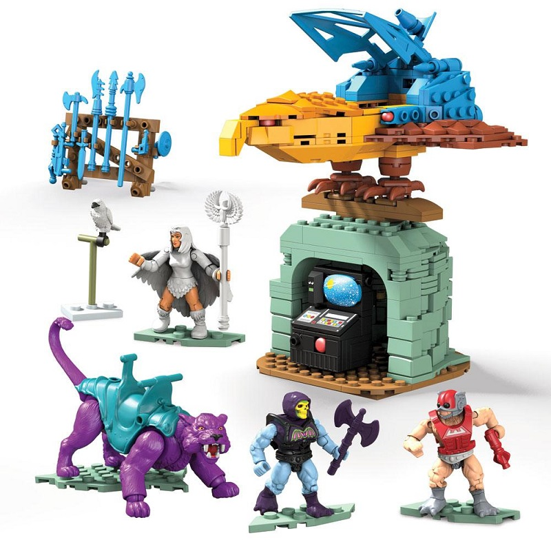 MASTERS OF THE UNIVERSE MEGA CONSTRUX PANTOR Y POINT DREAD