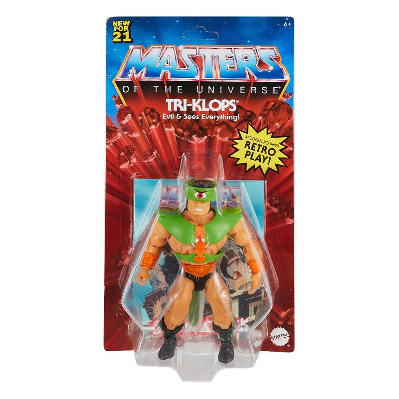 MASTERS OF THE UNIVERSE ORIGINS TRI-KLOPS