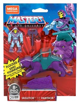 MASTERS OF THE UNIVERSE MEGA CONSTRUX SKELETOR & PANTHOR
