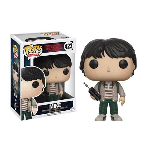 STRANGER THINGS MIKE FIGURA POP 10 CM VINILO