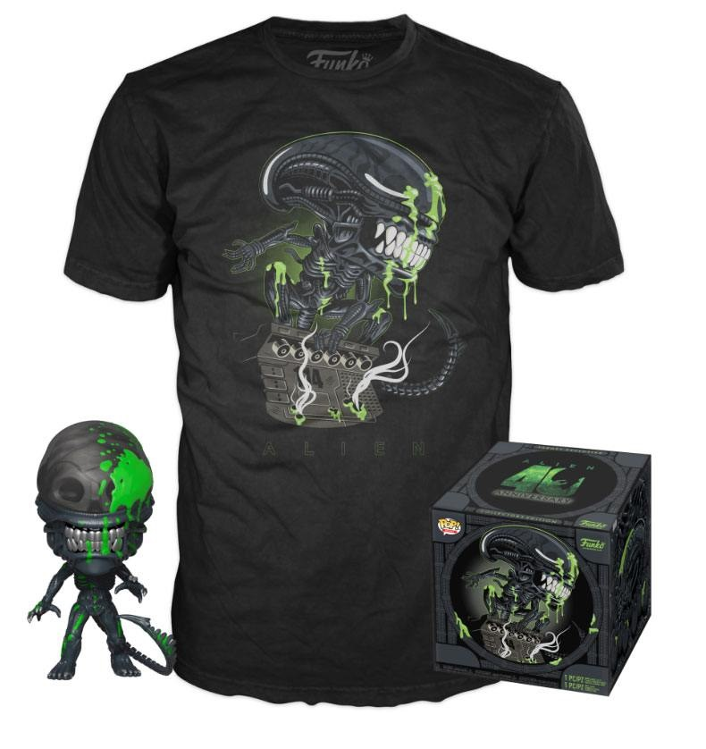 ALIEN POP! PACK FIGURA ALIEN + CAMISETA (M)