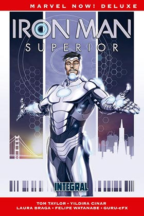 MARVEL NOW! DELUXE IRON MAN SUPERIOR INTEGRAL