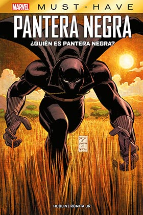 MARVEL MUST-HAVE ¿QUIEN ES PANTERA NEGRA?
