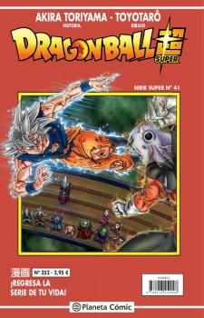 DRAGON BALL SUPER 41 SERIE ROJA Nº252