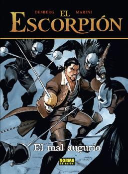EL ESCORPION 12. EL MAL AUGURIO. CART